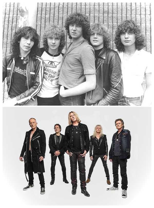 15 Fotos de míticas bandas de Rock y de como ha pasado el tiempo. 16
