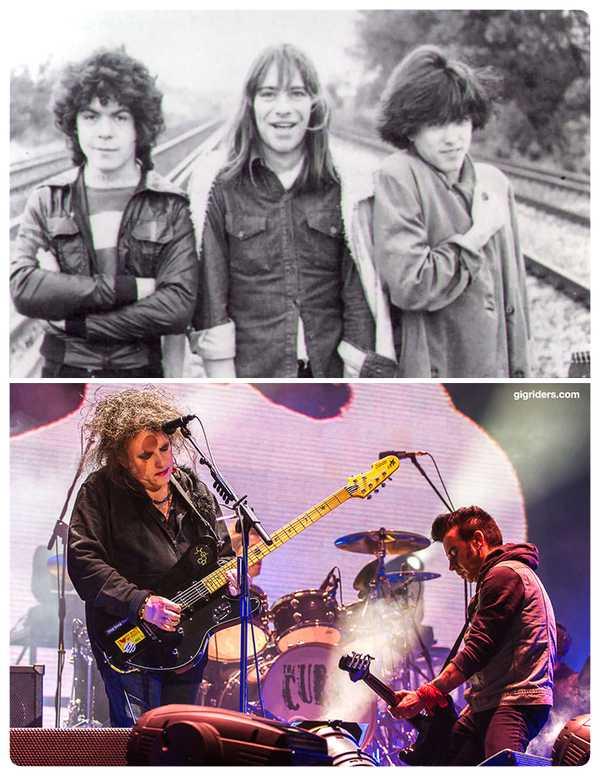 15 Fotos de míticas bandas de Rock y de como ha pasado el tiempo. 4