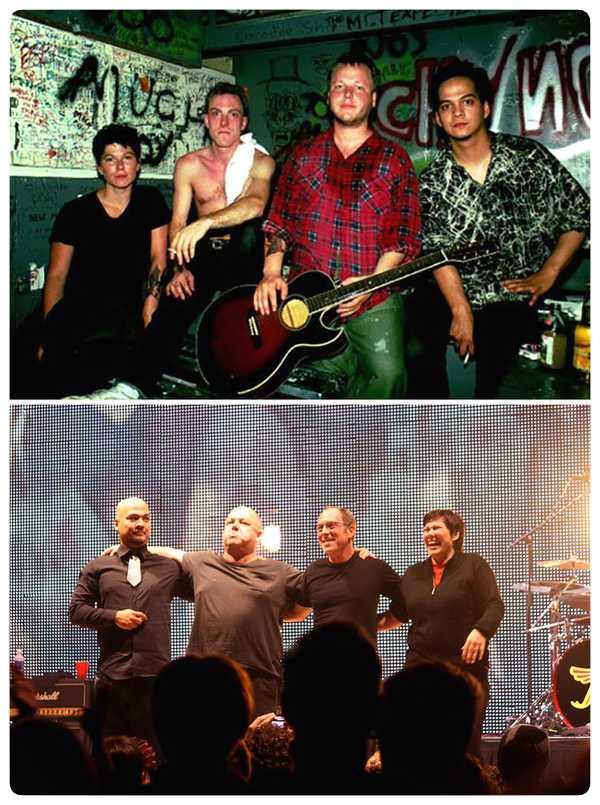 15 Fotos de míticas bandas de Rock y de como ha pasado el tiempo. 6