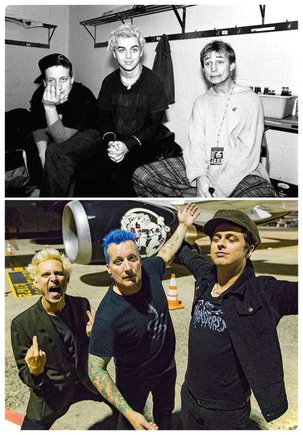 15 Fotos de míticas bandas de Rock y de como ha pasado el tiempo. 8