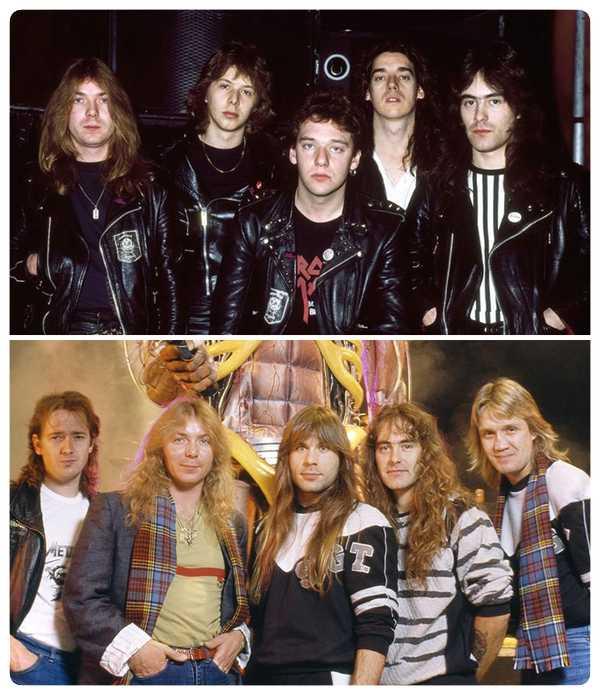 15 Fotos de míticas bandas de Rock y de como ha pasado el tiempo. 9