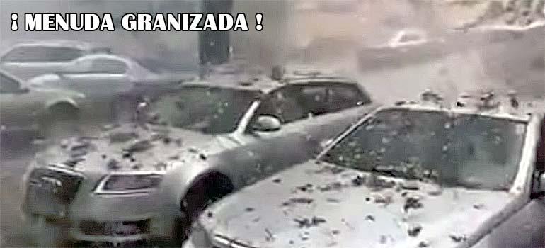 Espectacular granizada en Rumanía. 4