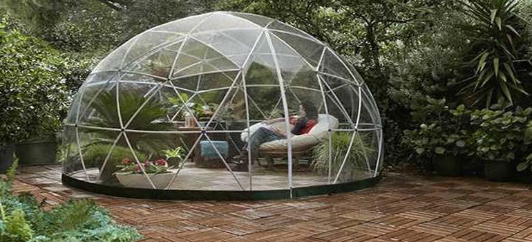 Amazon vende un Igloo para jardines que tienes que ver. 7