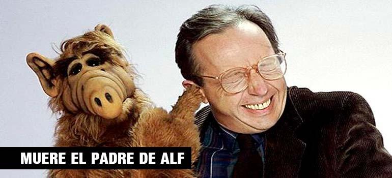 Ha muerto el padre de Alf, el actor Max Wright. 3