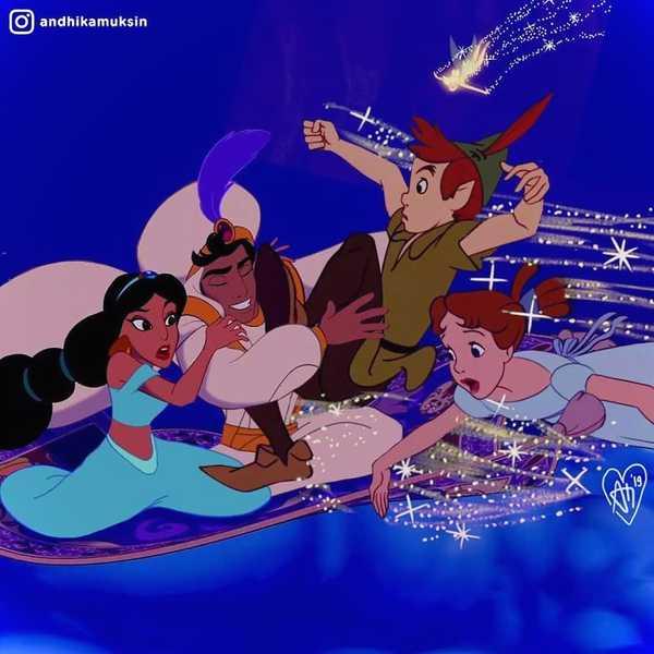 Artista se dedica a recrear a las princesas de Disney de una manera diferente. 12