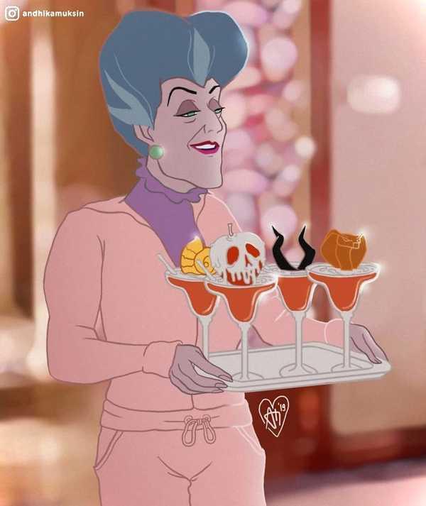 Artista se dedica a recrear a las princesas de Disney de una manera diferente. 13