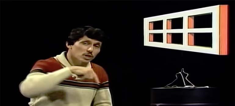 Ilusiones ópticas, la ventana de Ames. 2