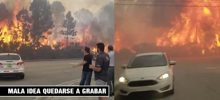 Impresionante vídeo que nos muestra con que rapidez se propaga un fuego. 5
