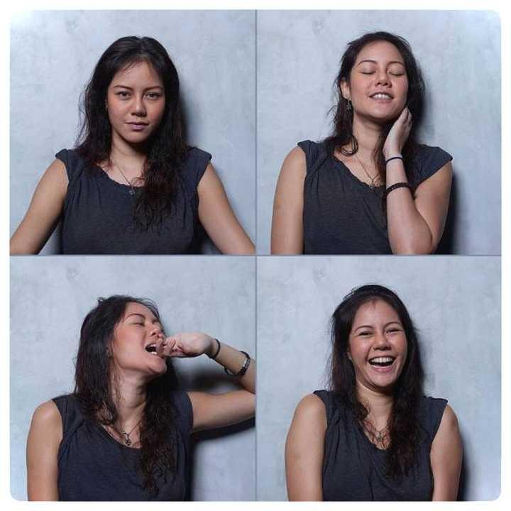 20 mujeres fotografiadas antes y después del Clímax. 13