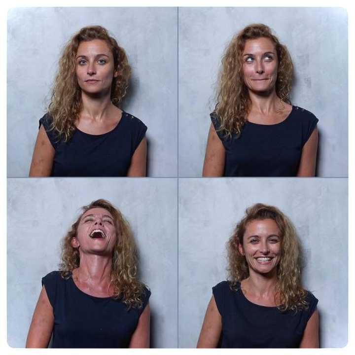 20 mujeres fotografiadas antes y después del Clímax. 18