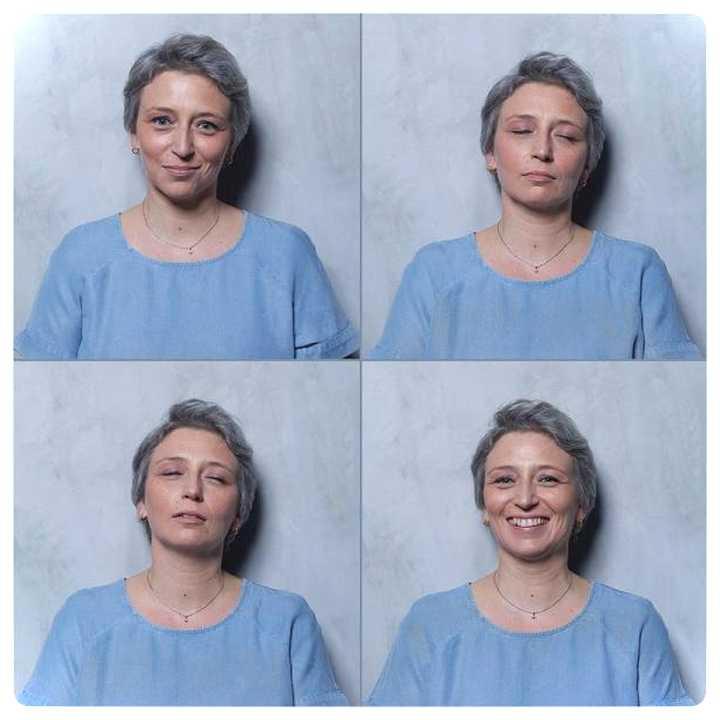 20 mujeres fotografiadas antes y después del Clímax. 21