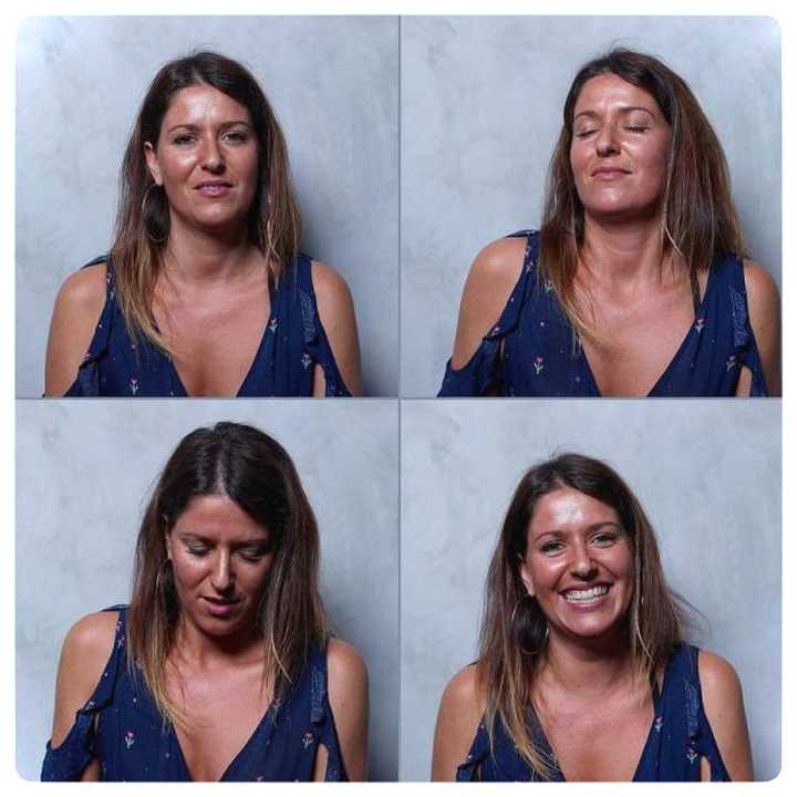 20 mujeres fotografiadas antes y después del Clímax. 22