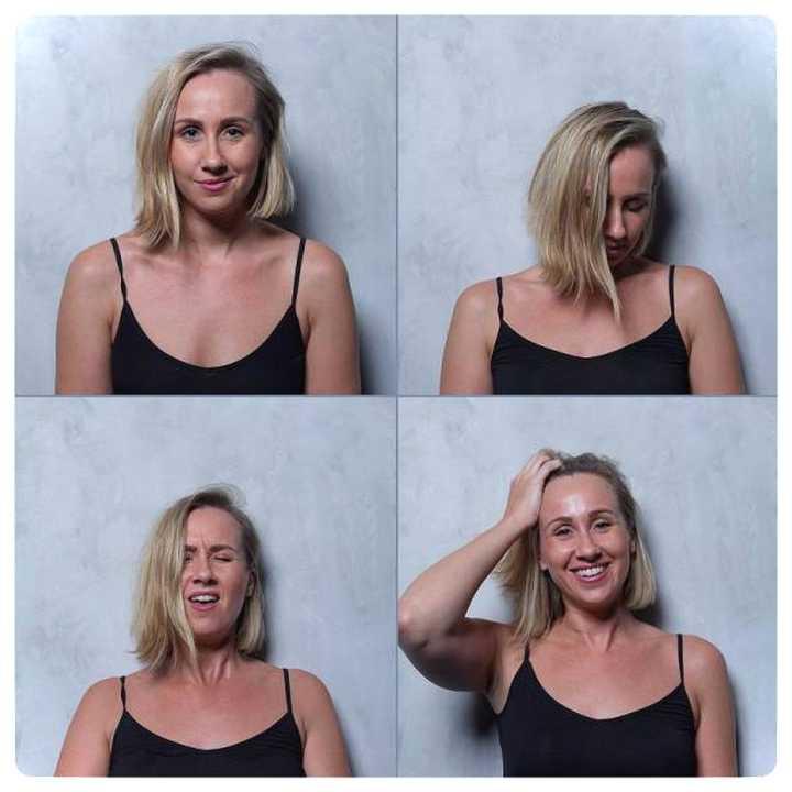 20 mujeres fotografiadas antes y después del Clímax. 6