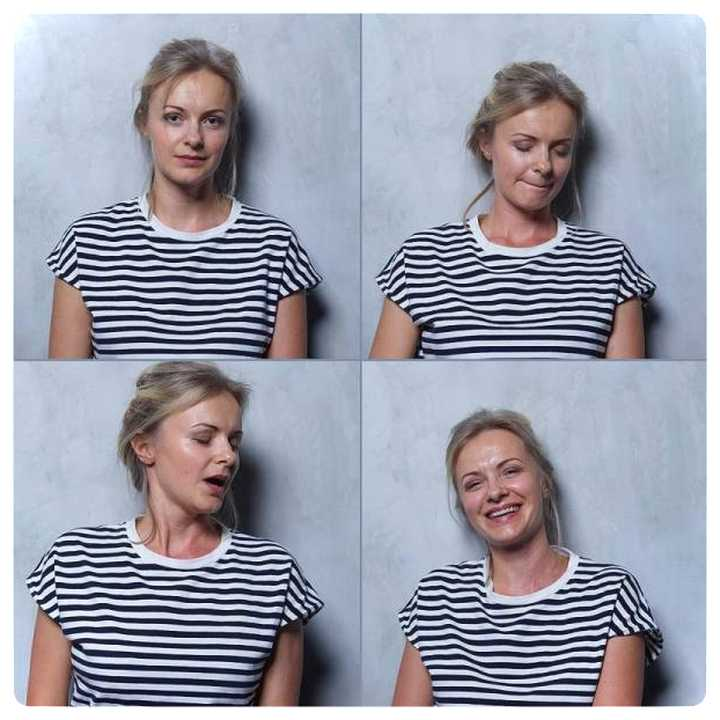 20 mujeres fotografiadas antes y después del Clímax. 9