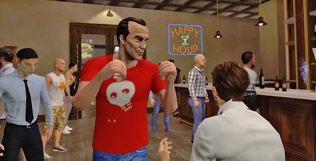 Drunkn Bar Fight VR, el juego de peleas de borrachos en realidad virtual. 3