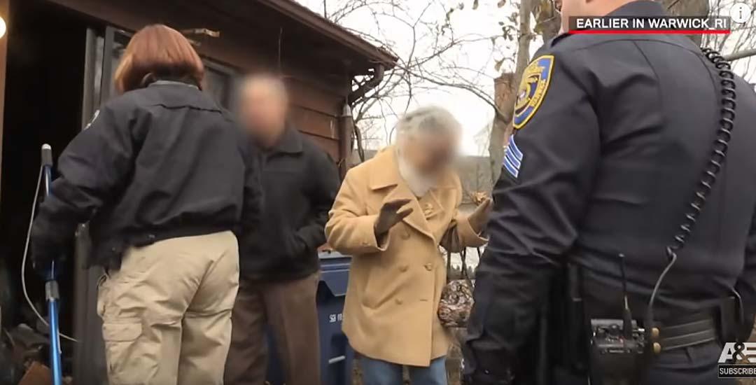 Policía acude a un aviso y se encuentra la casa de los horrores. 2