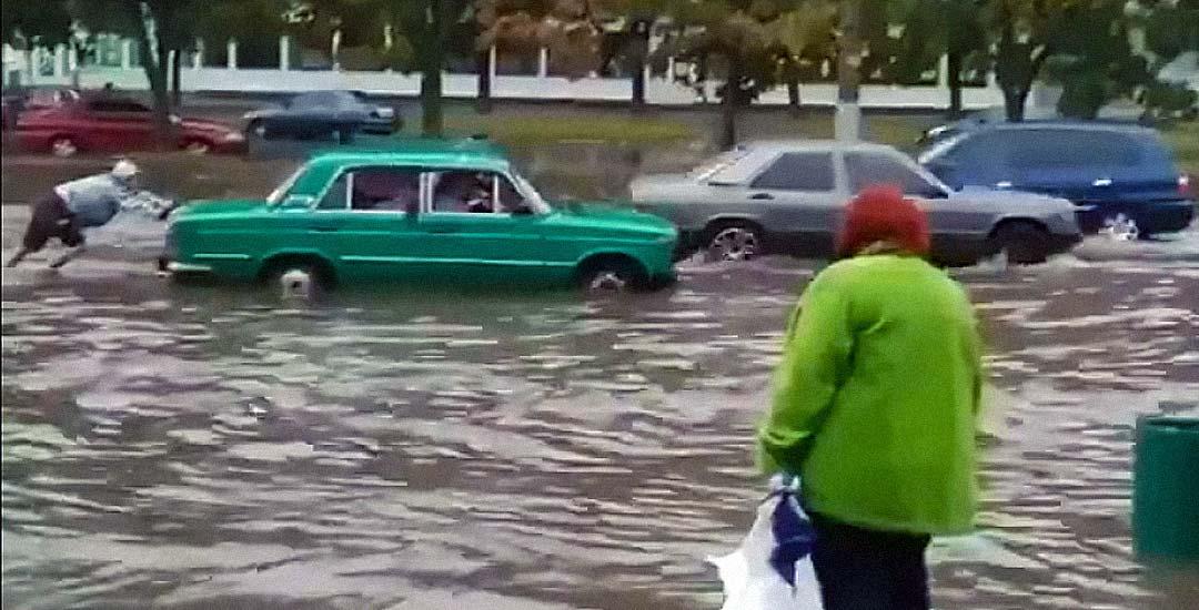 Cosas que te puedes encontrar en Rusia: Inundaciones. 27