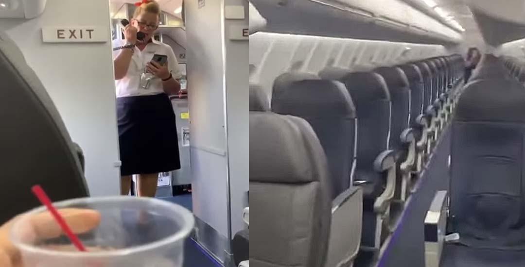 Descubre que es el único pasajero de un vuelo. 1