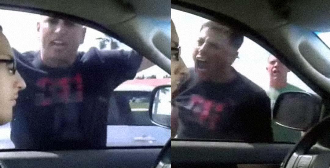 Mantiene la calma con un conductor agresivo y eso le cabrea todavía más. 4