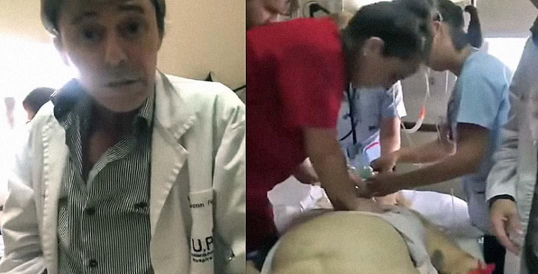 Médico drogado atiende a una mujer en parada que termina muriendo. 4
