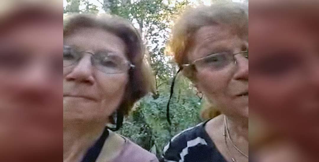 Dos abuelas argentinas se pierden en la selva y graban un divertido vídeo. 13