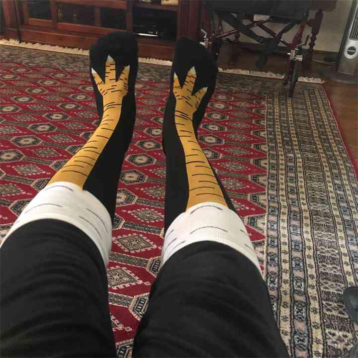 Los calcetines pata de pollo lo están petando en todo el mundo. 3