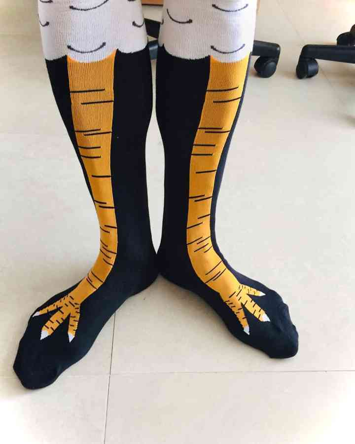 Los calcetines pata de pollo lo están petando en todo el mundo. 4
