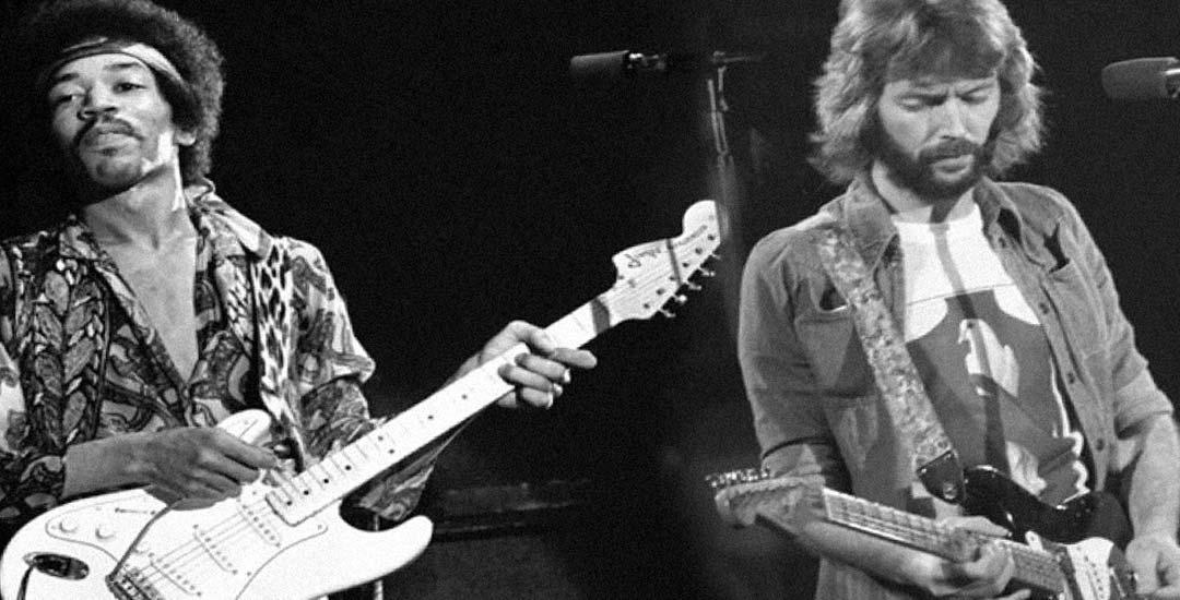 Cuando Jimi Hendrix humillo a Eric Clapton en un concierto. Vídeo. 7