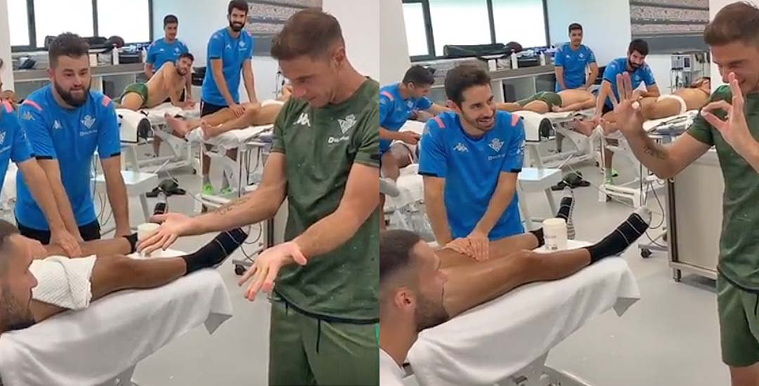 El truco de magia del futbolista Joaquín que se ha vuelto viral. 4
