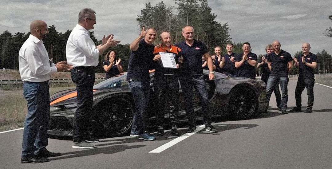 Bugatti Chiron circulando a más de 490 Km/h. Vídeo. 32