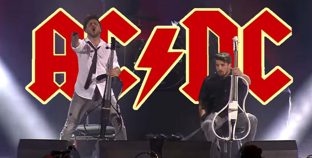 Thunderstruck de AC/DC tocado con Chelos 2