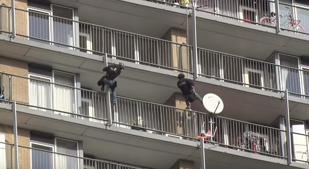 Escapa de la policía como Spiderman 3