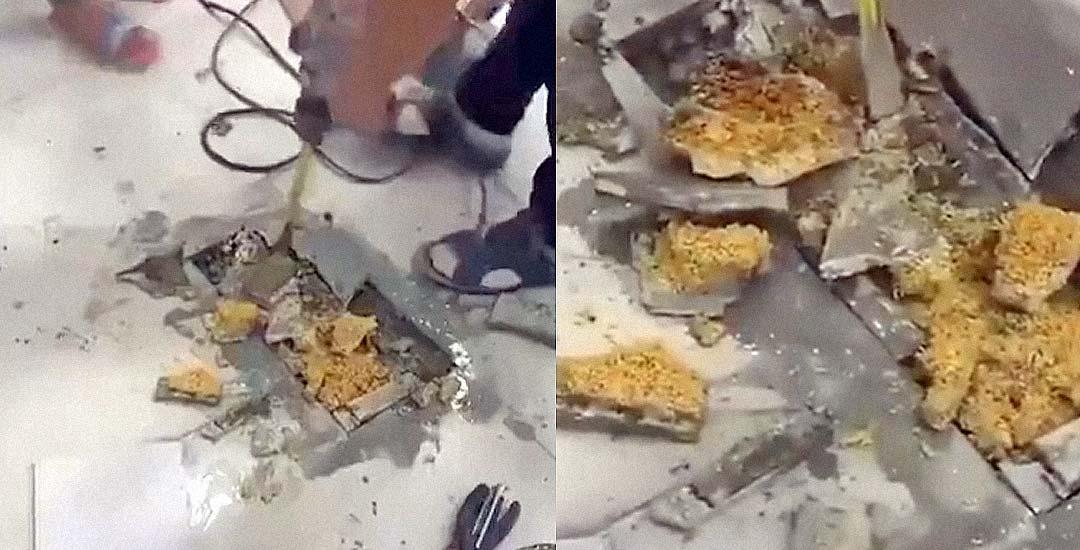 Descubren que han usado Noodles para reformar el piso 1