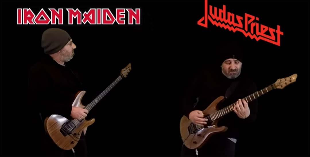 Batalla de riffs entre Iron Maiden y Judas Priest 6