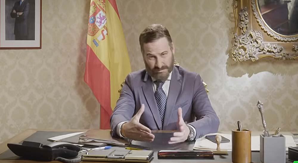 Joaquín Reyes imitando a Santiago Abascal, tienes que verlo... 3