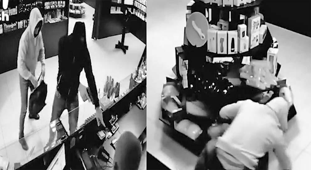 Ladrones roban un sexshop y se llevan consoladores 8