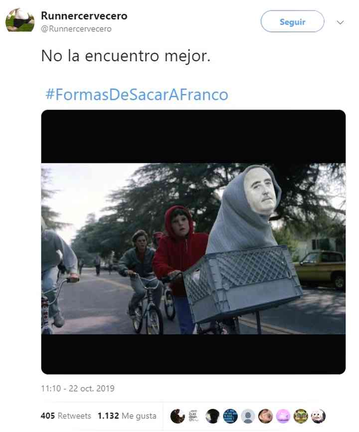 Memes exhumación de Franco, los 20 mejores 20
