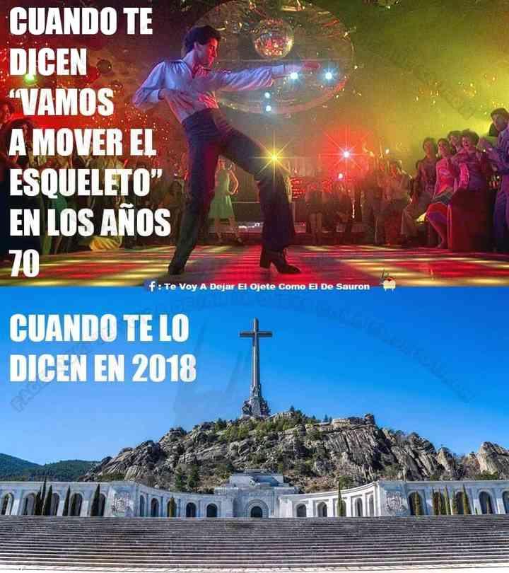 Memes exhumación de Franco, los 20 mejores 4