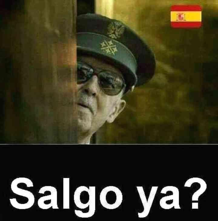 Memes exhumación de Franco, los 20 mejores 5