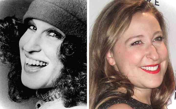 16 Fotos de famosas junto a sus hijas cuando tenían la misma edad 10
