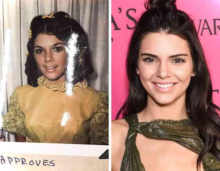 16 Fotos de famosas junto a sus hijas cuando tenían la misma edad 12