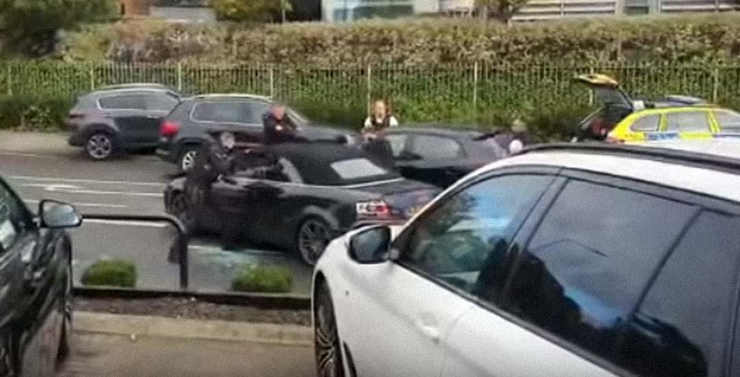 Vídeo de la detención de varios adolescentes tras una persecución en un coche robado 19