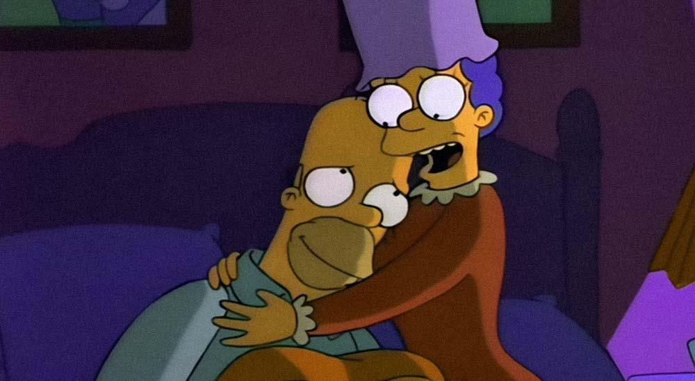 Remix de Marge y Homer Simpson creado por POGO 5