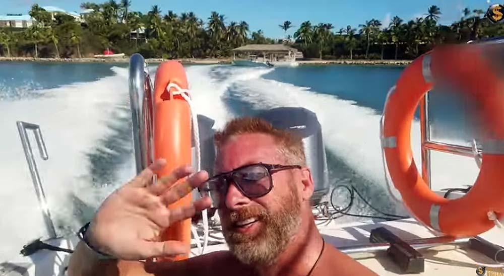 Se cuelan en la isla privada de Jeffrey Epstein 2
