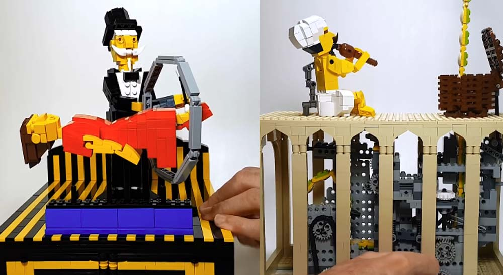 10 Sorprendentes cosas realizadas con LEGO 27