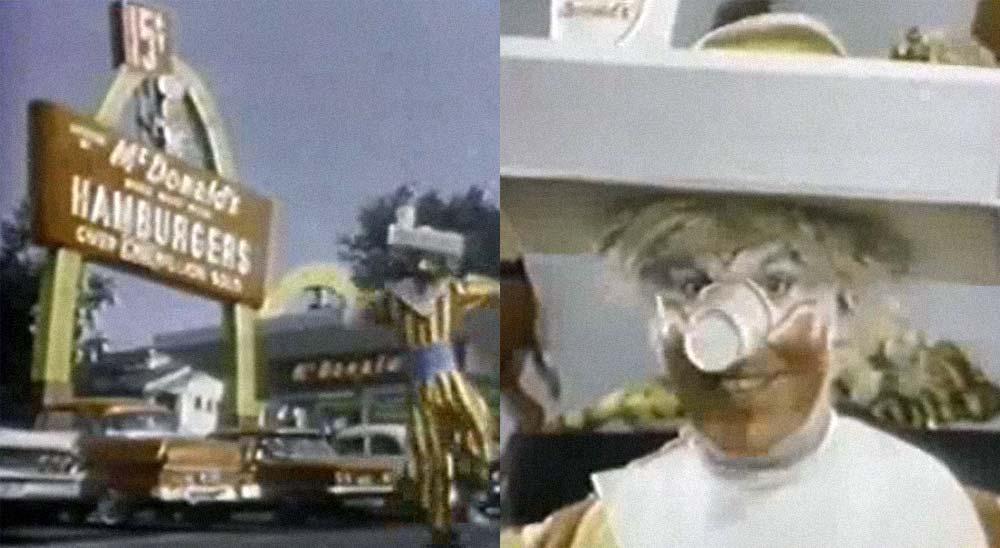 El primer anuncio que emitió McDonalds 6
