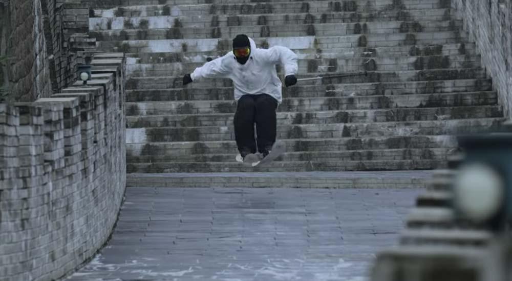 Esquiando en la Gran Muralla China 34