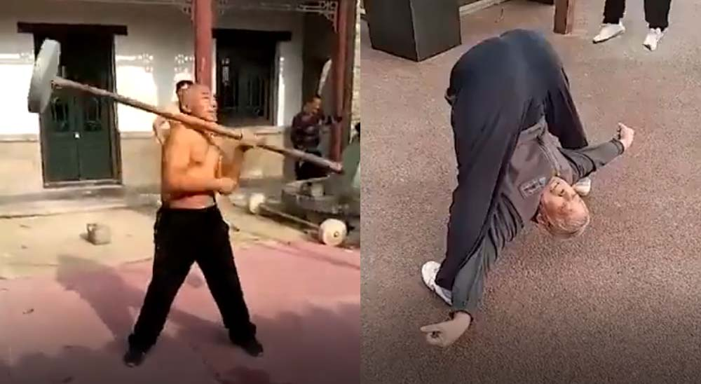 Los abuelos Chinos están muy cachas [Vídeo] 6