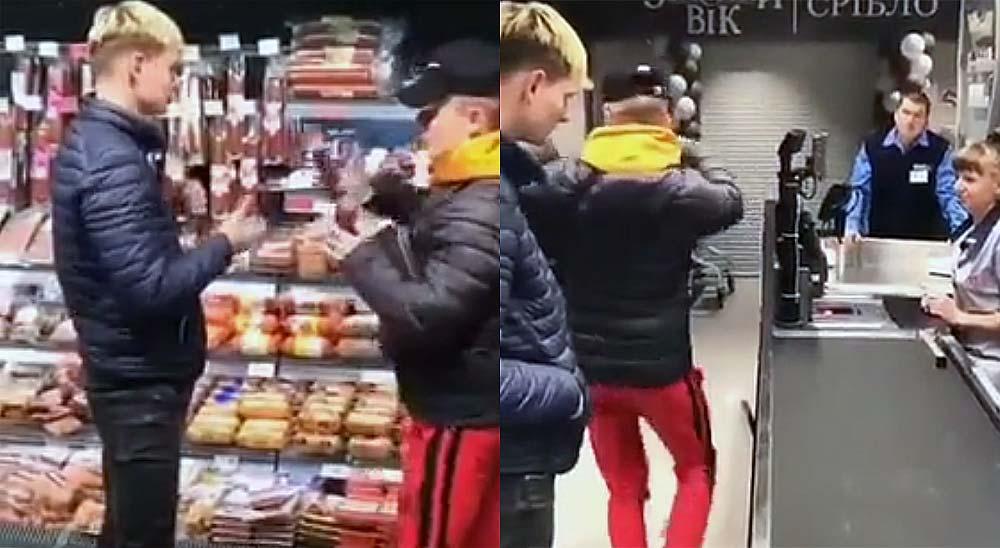 Robando en el supermercado con un truco de magia, no te pierdas el vídeo 3