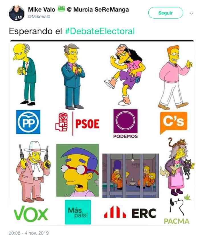 Memes del debate electoral, los 35 mejores 15